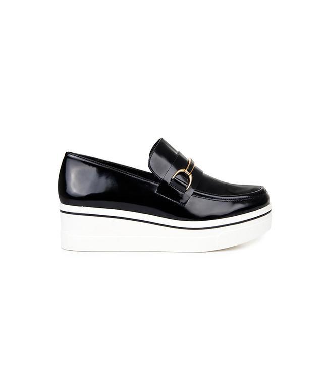 Stella McCartney Binx Faux-Leather Platform Loafers