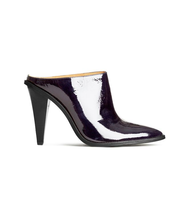 H&M Patent Leather Mules
