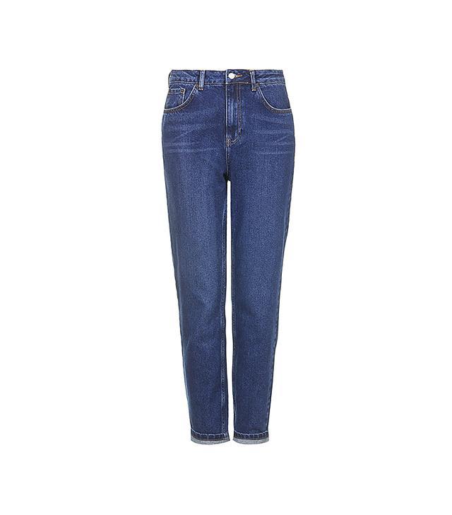 MOTO Blue Mom Jeans