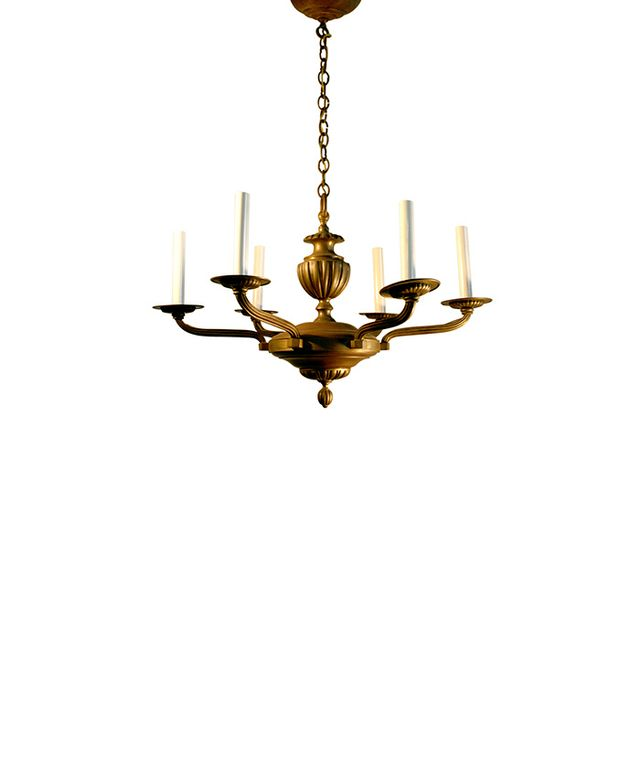 Second Shout Out French Art Deco Chandelier Bronze
