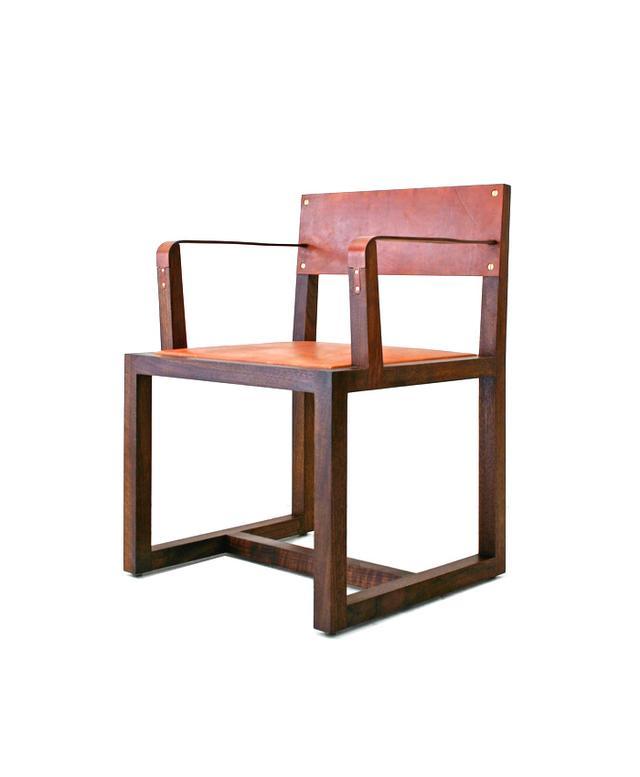BDDW Square Guest Armchair