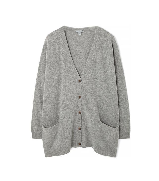 Cos Oversized Wool Cardigan
