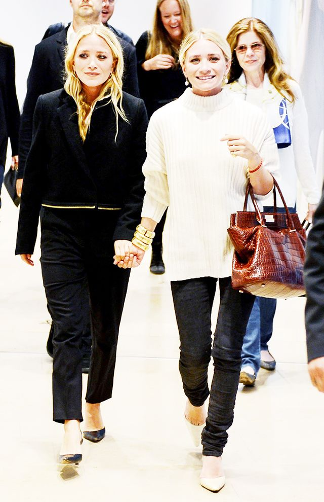 The Olsen Twin Guide To Fall Dressing Whowhatwear Au