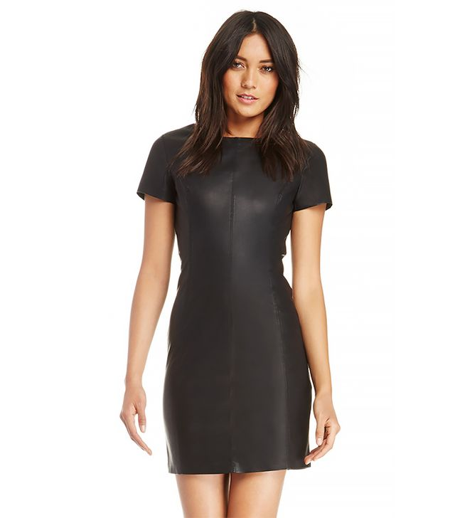 BB Dakota Dalrie Vegan Leather Dress