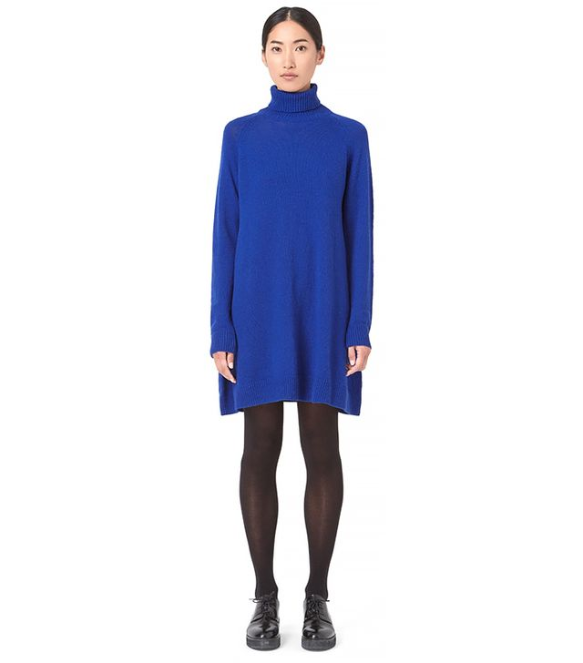 Cos Roll-Neck Knit Dress