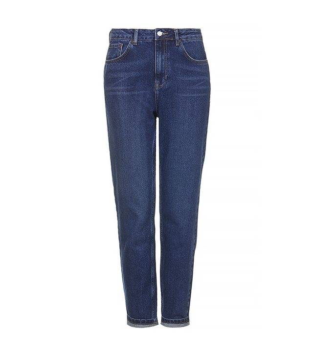 Moto Blue Mum Jeans