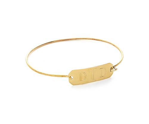 The Velvet Buttercup Monogram Bracelet
