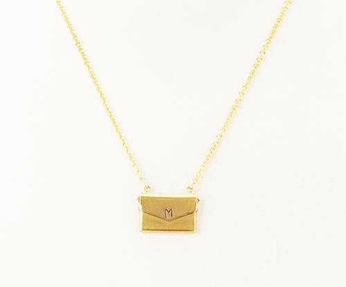 I Adorn U Love Letter Necklace