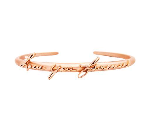 Fine Jewelry AS Handwriting Personalized Bracelet