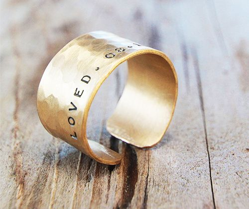 Amy Waltz Gold Dust Ring