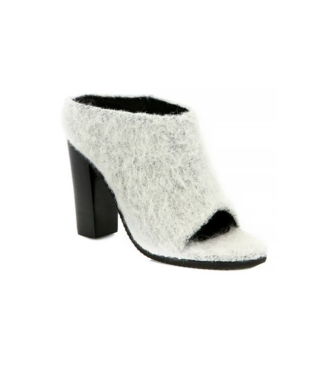 Tibi Leona Alpaca/Wool Mules