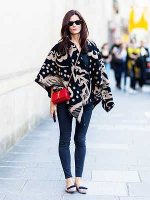 Tip of the Day: How to Wear a Poncho Like a Pro