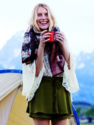 Dree Hemingway Looks Impossibly Perfect While Camping for Free People