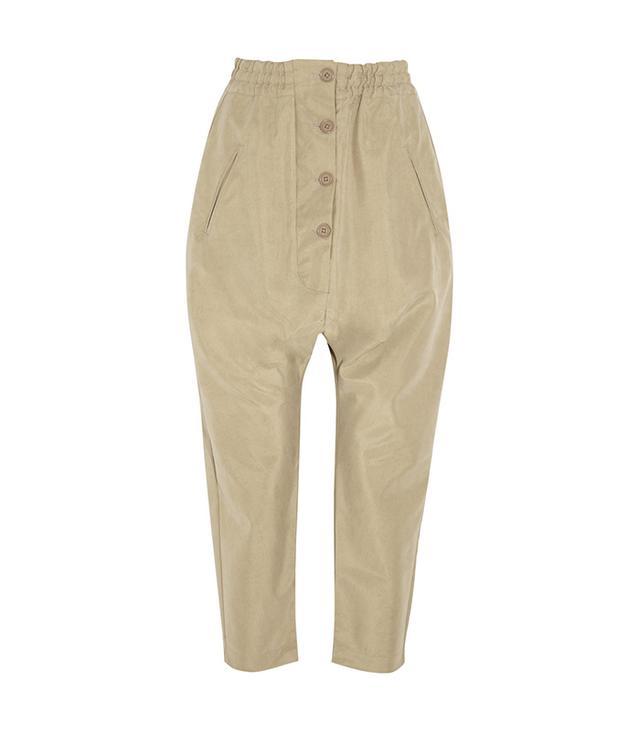 Studio Nicholson Ezra Cropped Bonded Pants