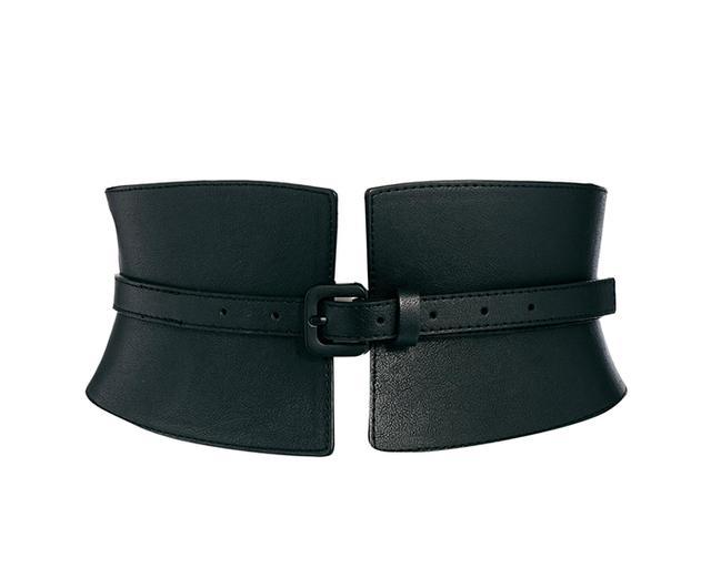 ASOS Wide Waist Cincher Buckle Belt