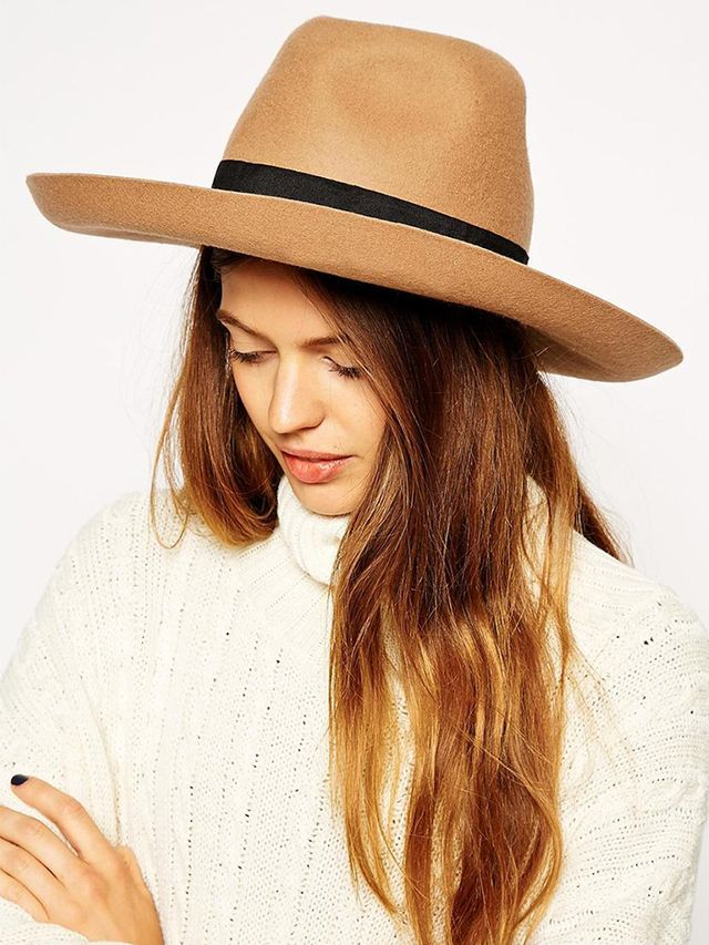 ASOS Wide-Brim Stenson Felt Hat