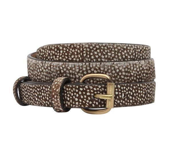 Jack Wills Leather Spotted Belt