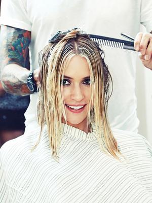 Behind the Scenes of Kristin Cavallari's MAJOR Hair Transformation