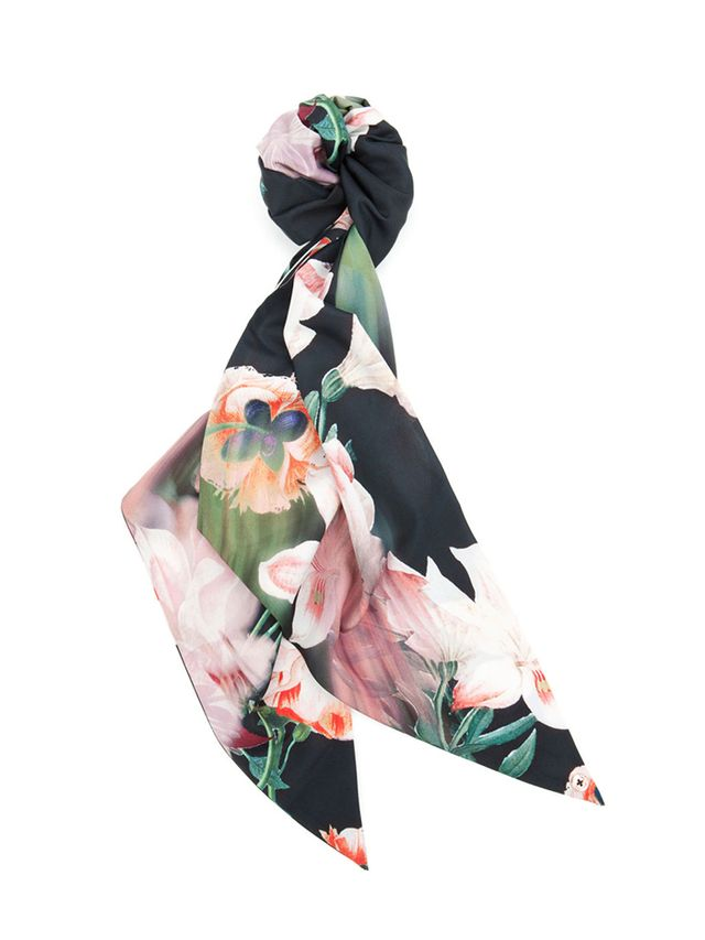 Ted Baker Ayef Opulent Bloom Printed Scarf