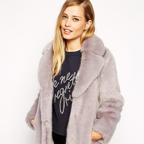 Kumiko Faux Fur Coat