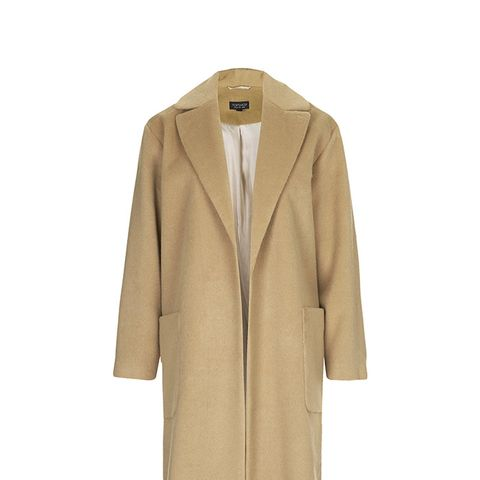 Longline Throw On Coat