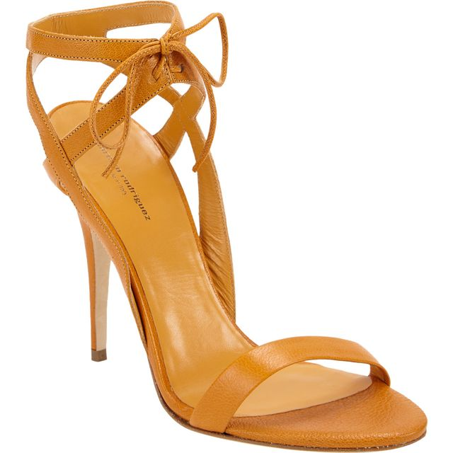 Narciso Rodriguez Ankle Tie Sandals
