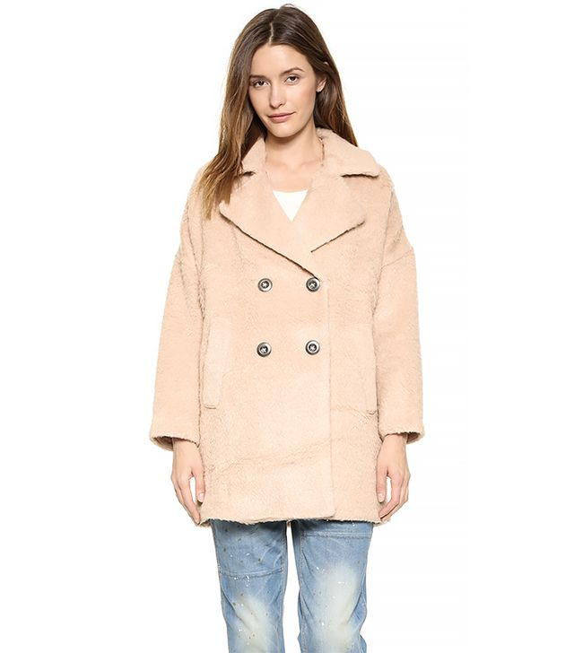 Free People Fuzzy Coat