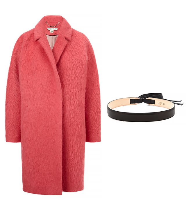 Whistles Ira Textured Coat