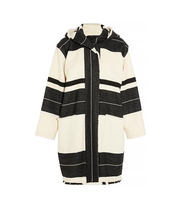 Isabel Marant Adil Blanket Wool-Blend Jacket