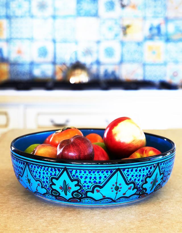 Le Souk Ceramique Seaside Low Bowl