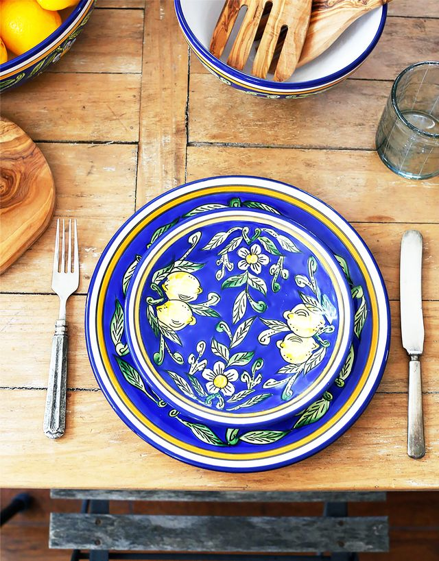 Le Souk Ceramique Sweet Lemon Side Plate