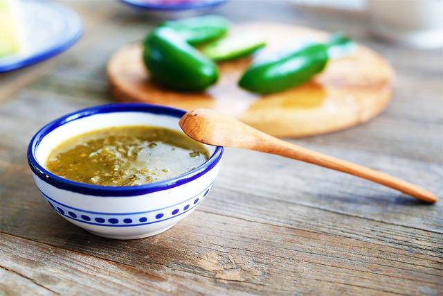 Le Souk Ceramique Floral Sauce Bowl