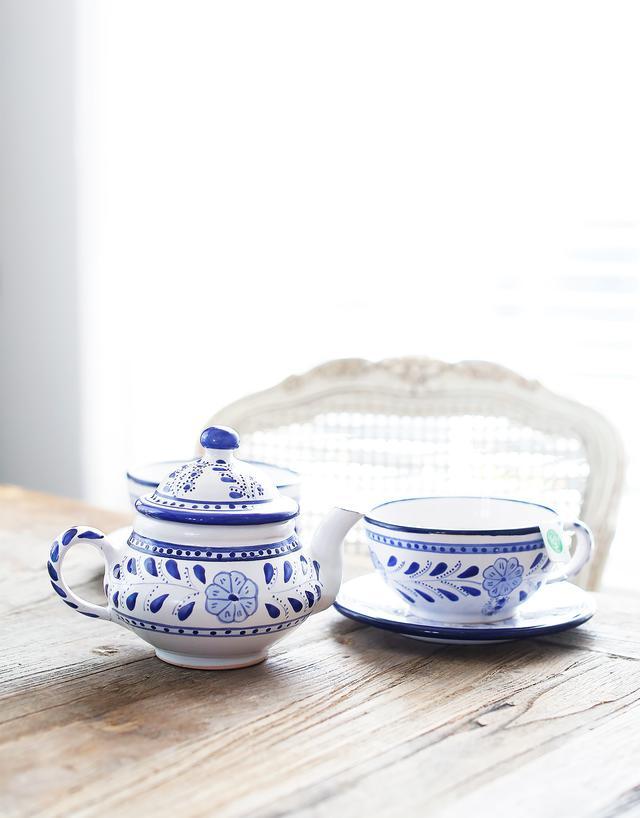 Le Souk Ceramique Floral Teapot