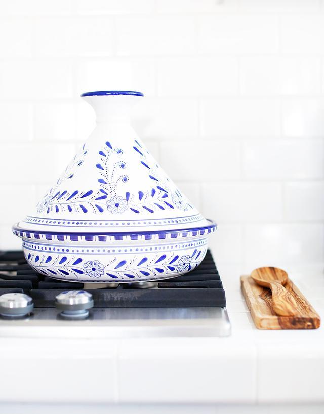 Le Souk Ceramique Floral Tagine