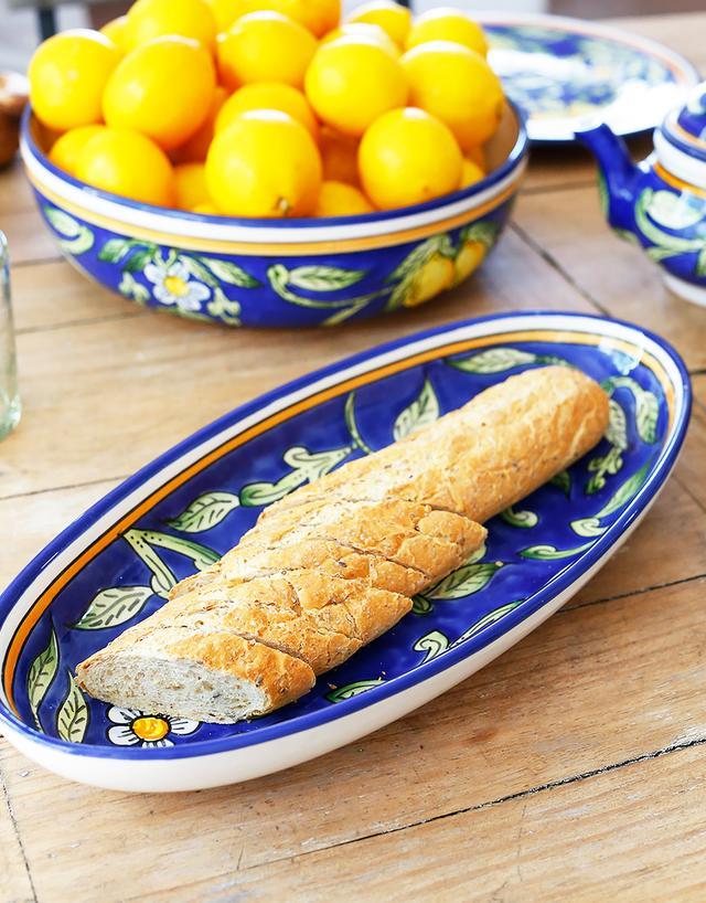 Le Souk Ceramique Sweet Lemon Platter