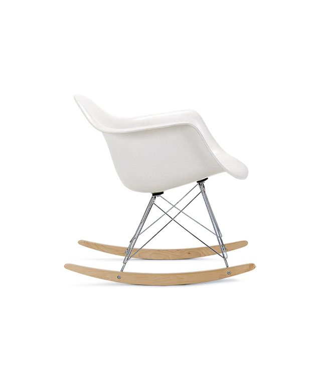 Modernica Molded Fiberglass Rocking Chair