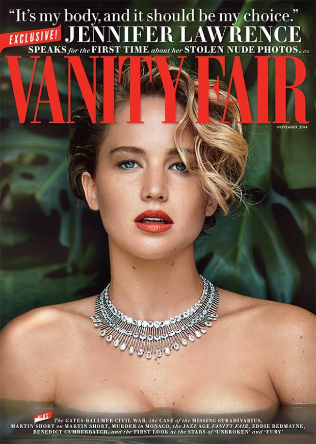 Jennifer Lawrence Completely Smolders on the Cover of Vanity Fair