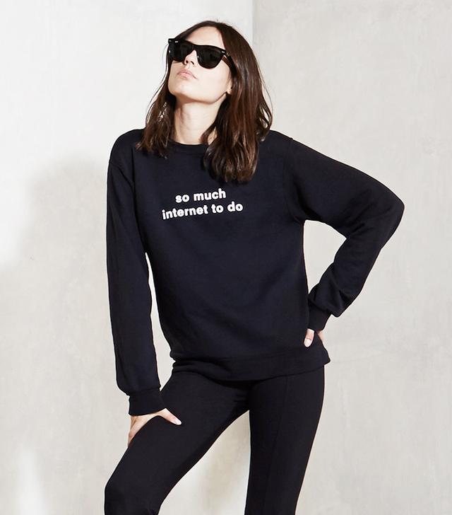 Reformation Internet Sweatshirt