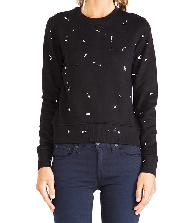 Rag and Bone Splatter Paint Sweatshirt