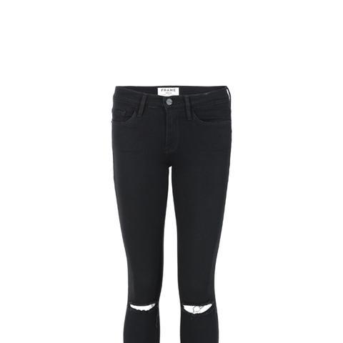 Satine Rip Skinny Jeans