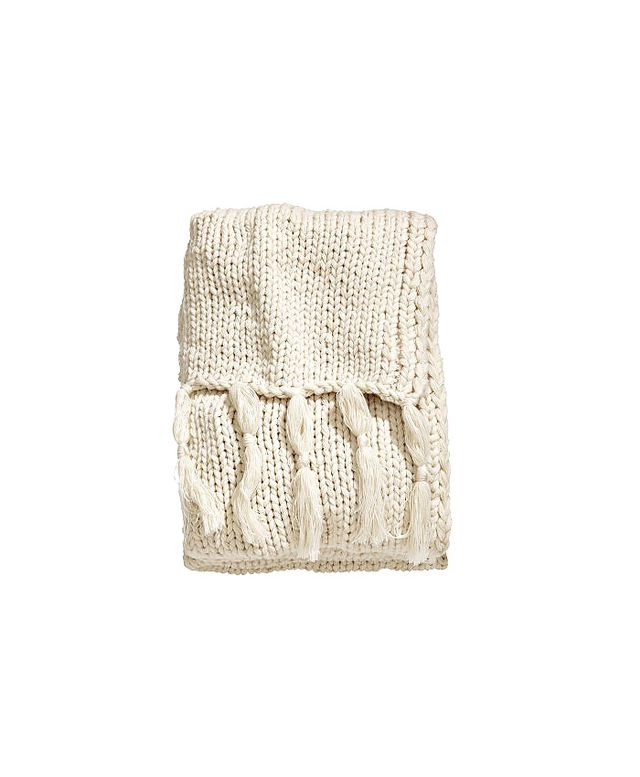 H&M Home Chunky-Knit Throw