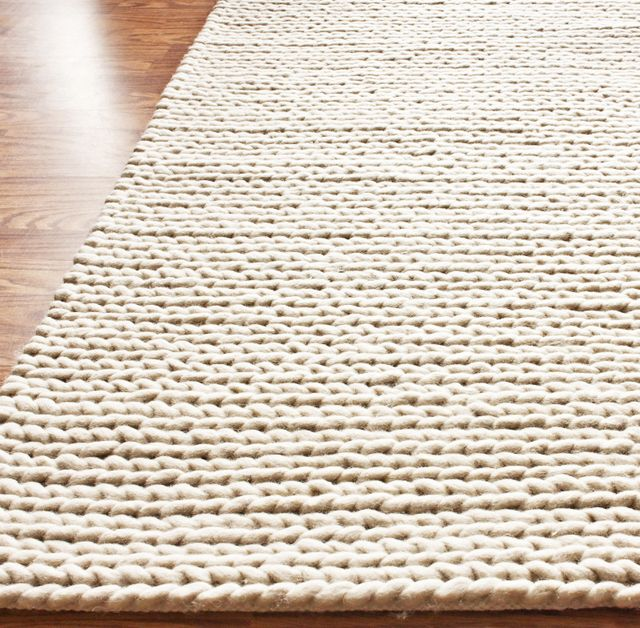 Rug Studio Nuloom Textures Cable Chunky White Area Rug