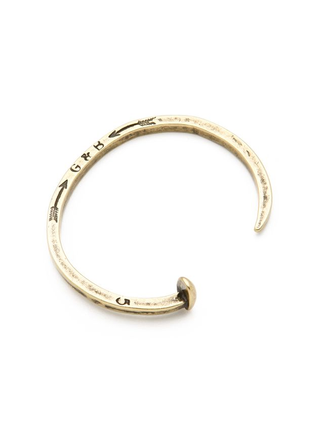 Giles & Brother Skinny Railroad Spike Cuff