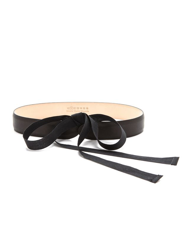 Maison Martin Margiela Leather & Ribbon Belt