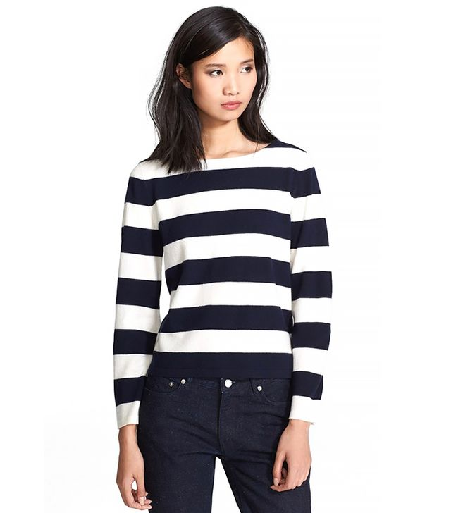 A.P.C. Sailor Stripe Wool Top
