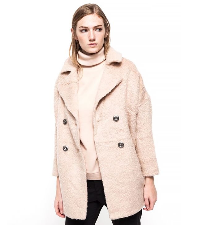 Free People Mid Thigh Overcoat