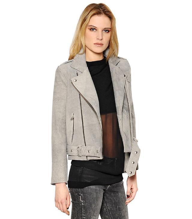 Iro Washed Napa Leather Moto Jacket