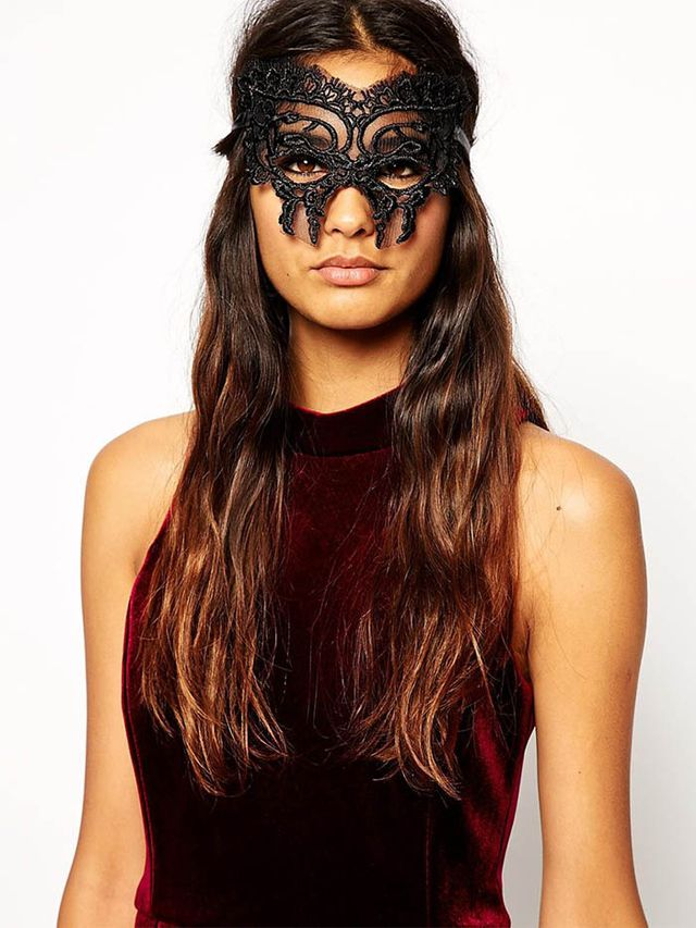 ASOS Halloween Lace Butterfly Mask