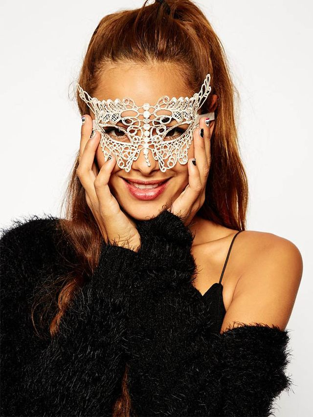 ASOS Halloween Pretty Lace Mask