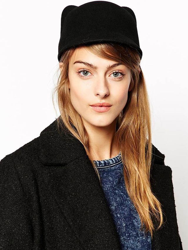 Maison Scotch Hat with Cat Ears